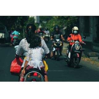 道路の横断